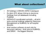 what about collections1