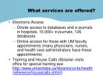 what services are offered1