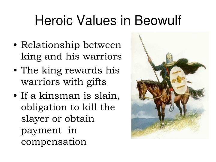 beowulf the ideal king and warrior Essay anglo-saxon ideal code of conduct he epic poem of beowulf presents the characteristics of two heroes, beowulf and hrothgar during this anglo-saxon time period, hrothgar rules as the king of his danish lands.