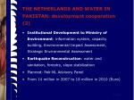 the netherlands and water in pakistan development cooperation 2