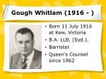 gough whitlam 1916