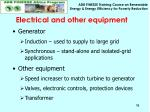electrical and other equipment