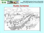 hydro scheme