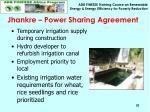 jhankre power sharing agreement