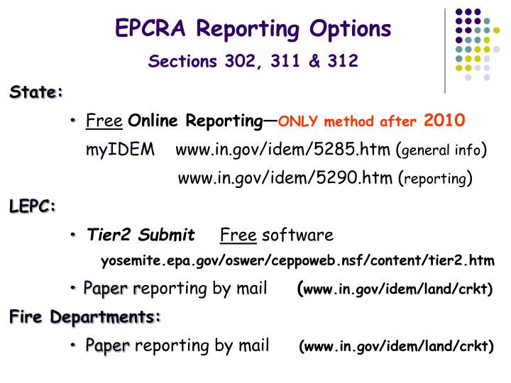 PPT - Superfund Amendments & Reauthorization Act (SARA ...