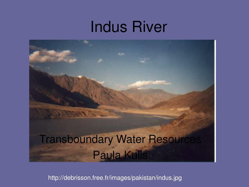 indus river l.