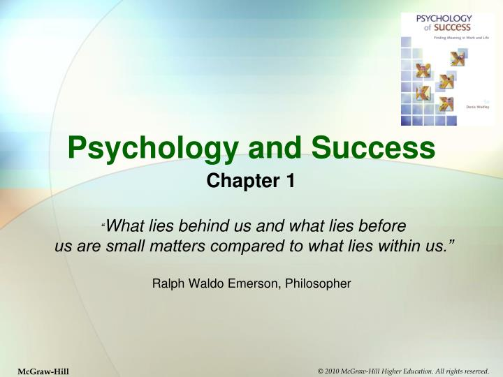 psychology and success