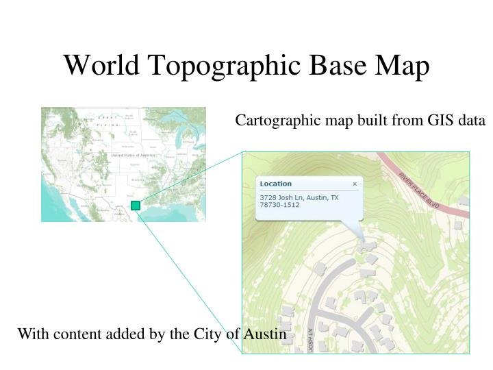 World Topographic Base Map