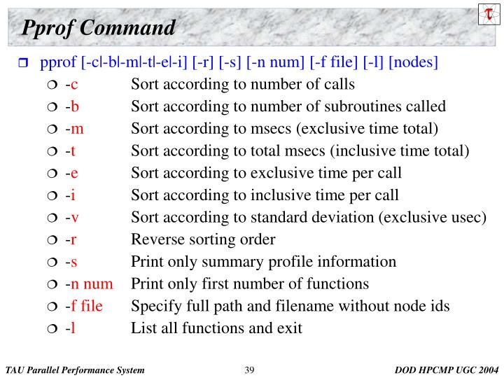 Pprof Command