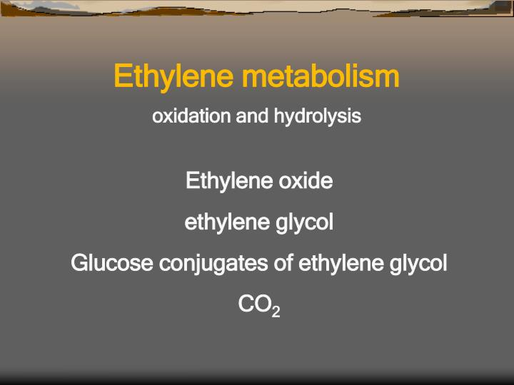 Ethylene metabolism