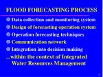 flood forecasting process