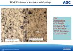 feve emulsions in architectural coatings26