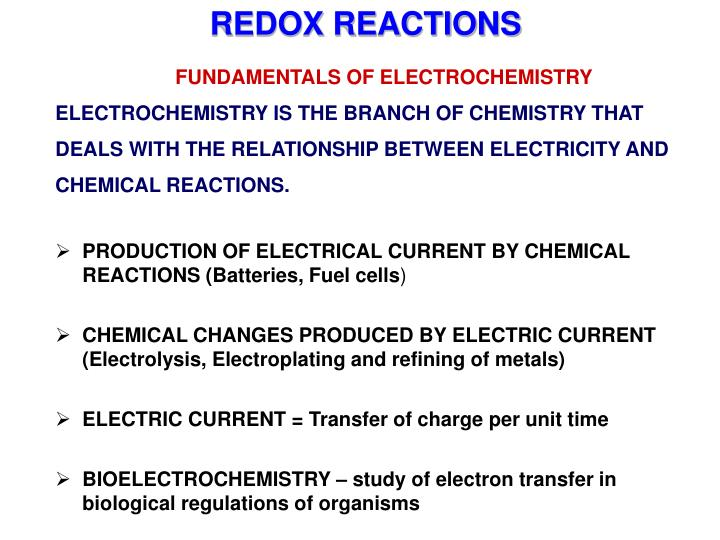 Ppt introduction to electrochemistry basics of all techniques.