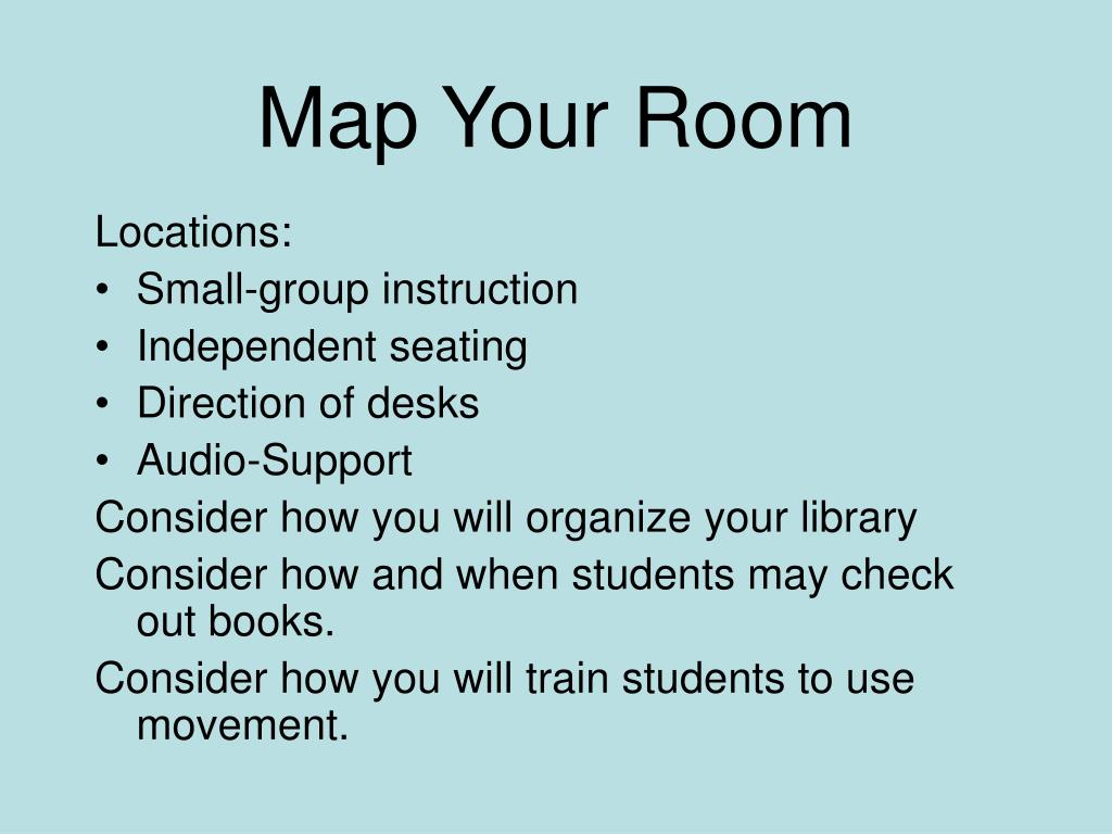 Map Your Room