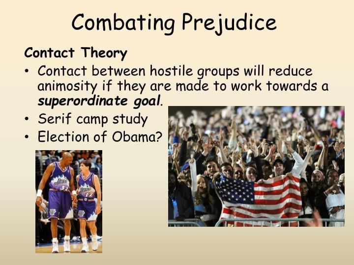 Combating Prejudice