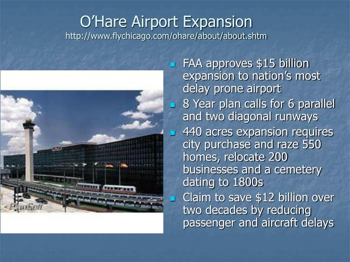 O'Hare Airport Expansion