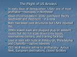the plight of us airways