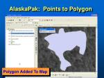 alaskapak points to polygon79
