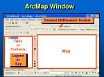 arcmap window