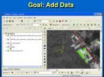 goal add data