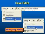 save edits