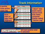 track information