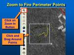 zoom to fire perimeter points