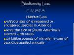 biodiversity loss13
