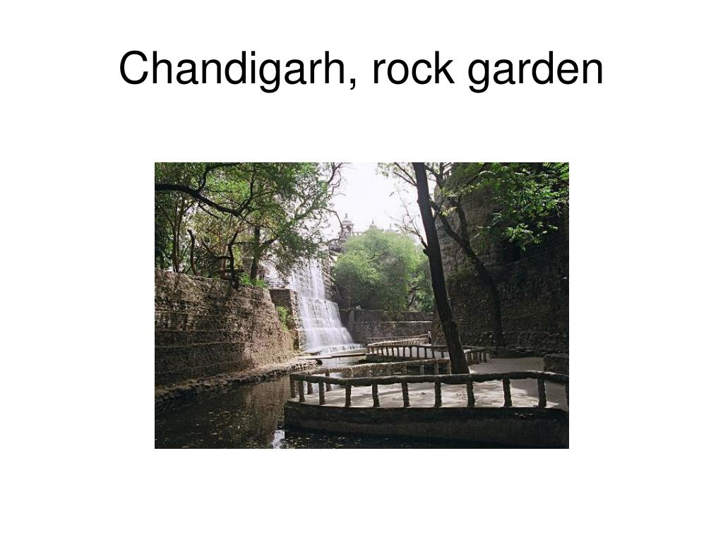 Chandigarh, rock garden