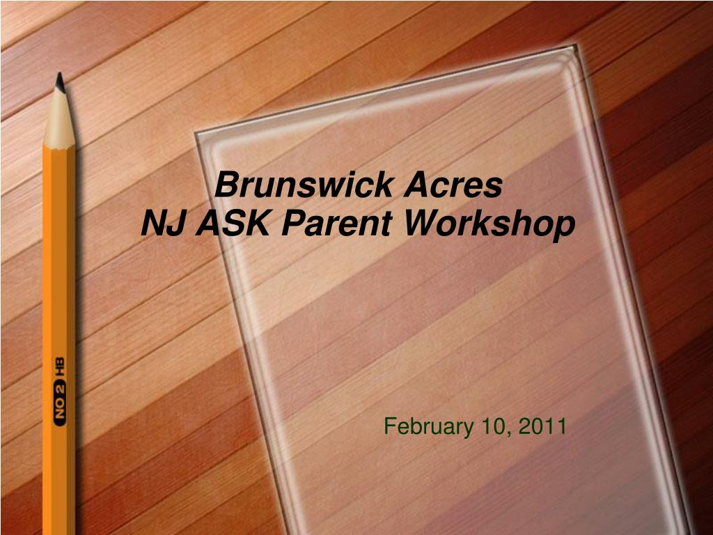 brunswick acres nj ask parent workshop l.