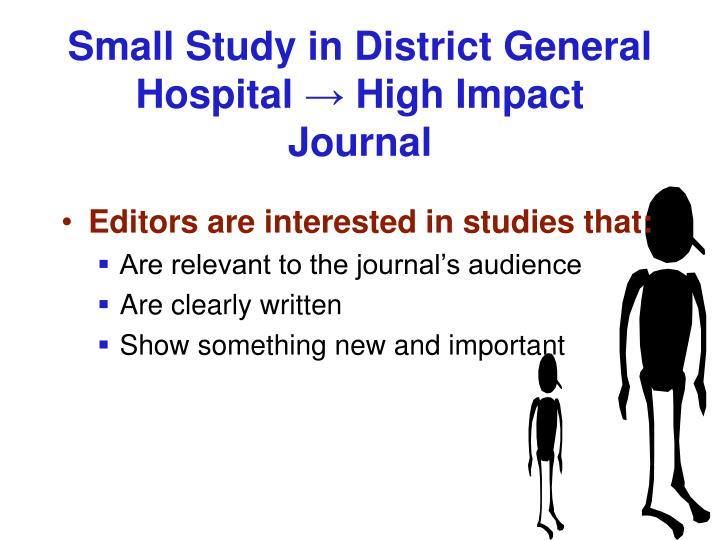 Small Study in District General Hospital