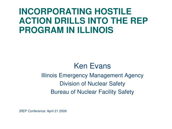 incorporating hostile action drills into the rep program in illinois n.