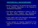 historicall background