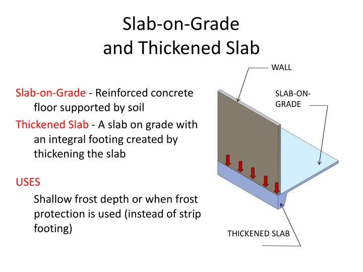 Slab-on-Grade