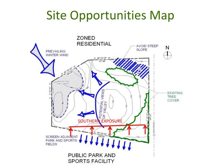 Site Opportunities Map