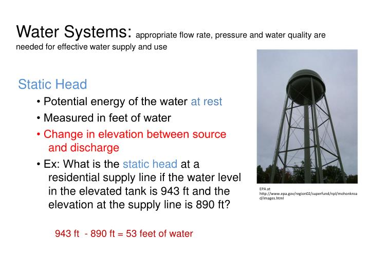 Water Systems: