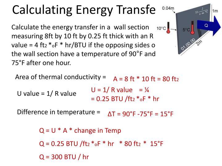 Calculating Energy Transfe