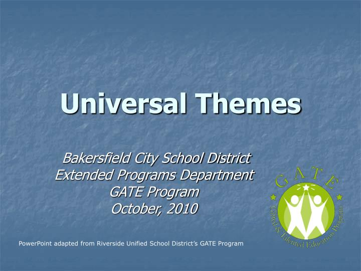 universal themes Essays - largest database of quality sample essays and research papers on hamlet universal themes.