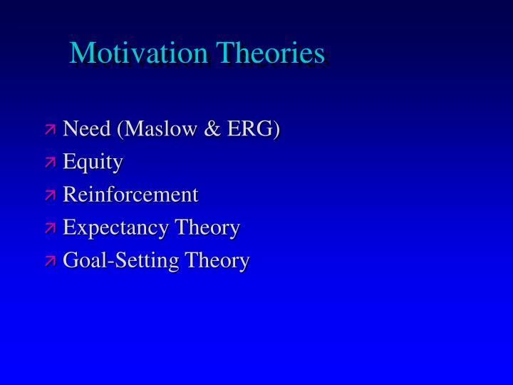 limitation to motivation theories Goal-setting theory of motivation  despite the benefits of goal setting, there are a few limitations of the goal-setting process (locke & latham, 2002) first.