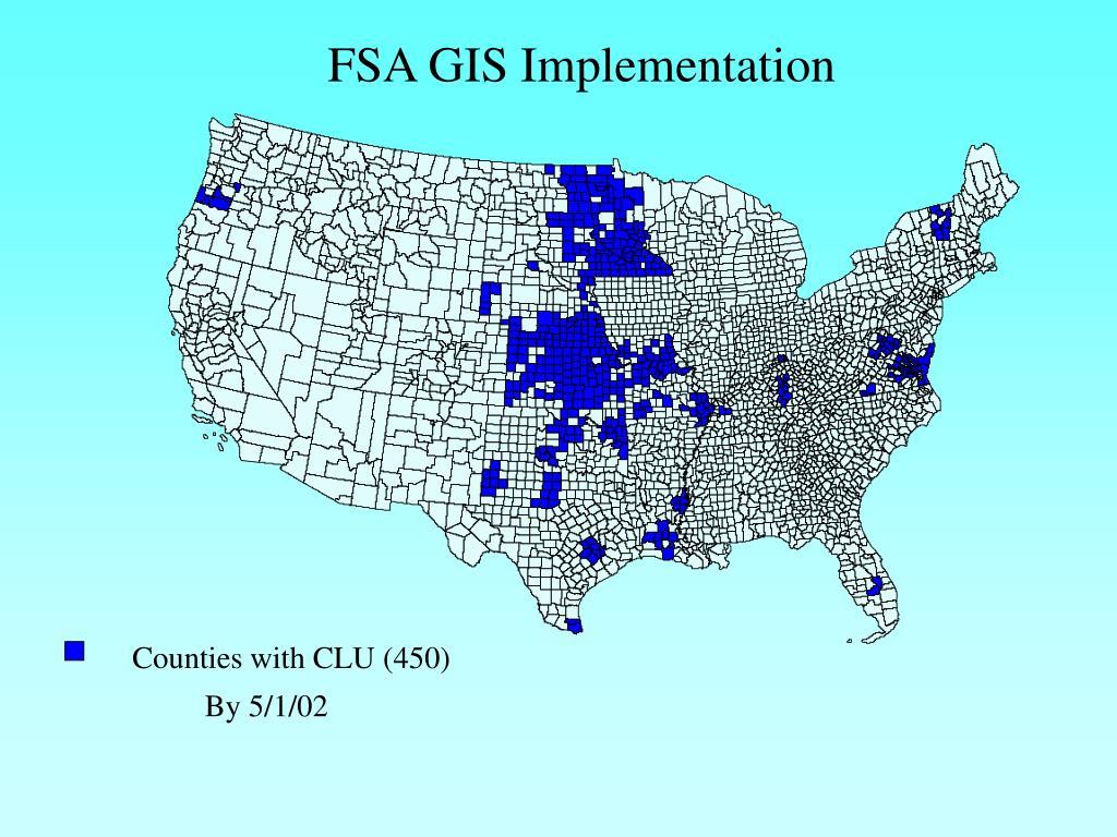 FSA GIS Implementation