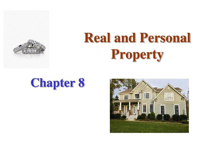 real and personal property n.