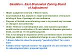 saadala v east brunswick zoning board of adjustment1