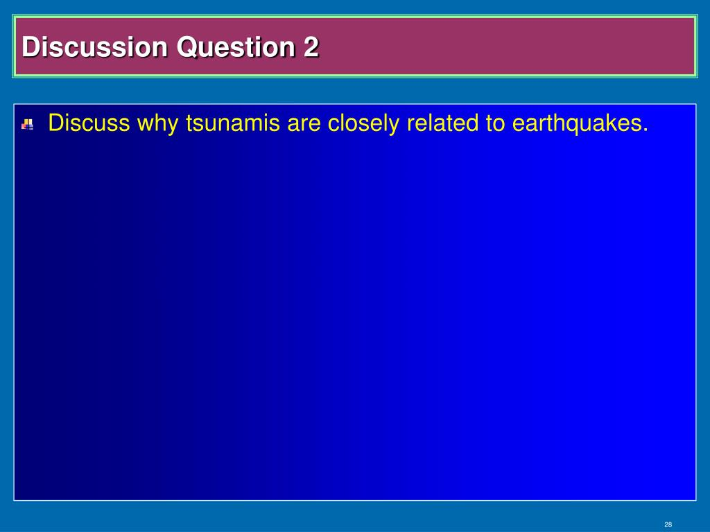 Discussion Question 2