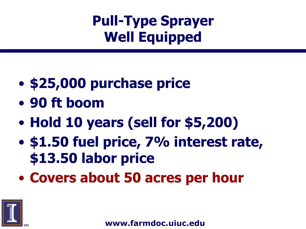 Pull-Type Sprayer