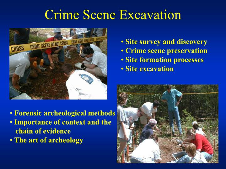 Crime Scene Excavation