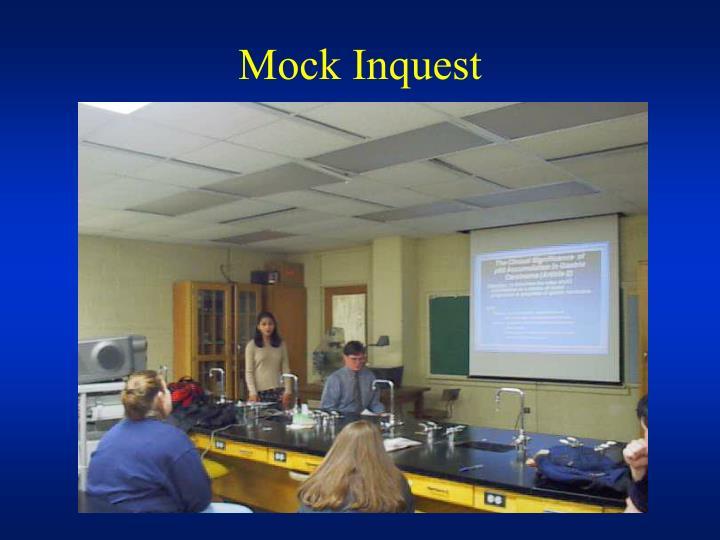 Mock Inquest