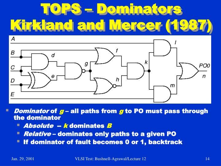 TOPS – Dominators