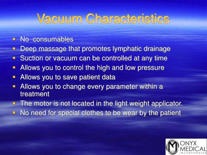 Vacuum Characteristics