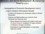 economic and social development burdened by poverty cont75