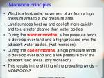 monsoon principles